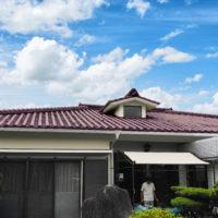 錦江町 個人宅 ガーネットレッドによるシミュレーション