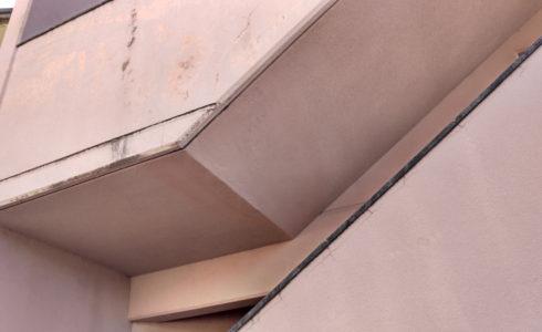 南大隅町 団地の部分塗装 (完成後の様子)